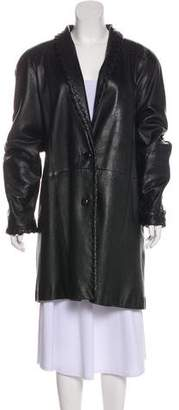 Givenchy Vintage Leather Coat