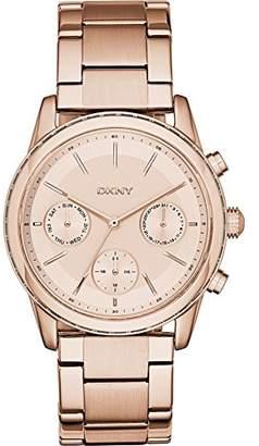 DKNY Women's Quartz Watch with Black Dial Analogue Display Quartz Stainless Steel NY2331