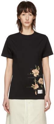 Loewe Black Botanical T-Shirt