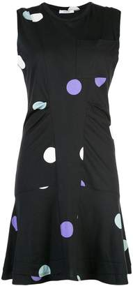 Derek Lam 10 Crosby Sleeveless Dress with Ruffle Hem