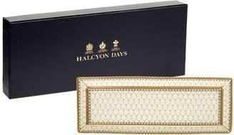 Halcyon Days Antler Trellis Pen Tray