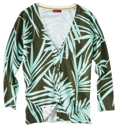 Merona Women's 3/4 Sleeve V-Neck Cardigan Sweater - Colorblock