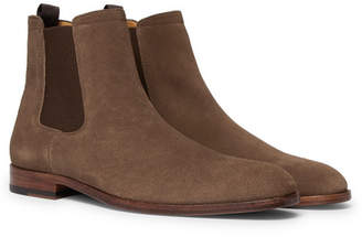 HUGO BOSS Cardiff Suede Chelsea Boots