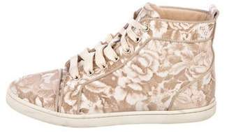 436d46a63eca Christian Louboutin Brown Women s Sneakers - ShopStyle