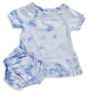 Splendid Baby's Two-Piece Tie-Dyed Dress and Panty Set