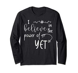 I believe in the power of yet tshirts for women