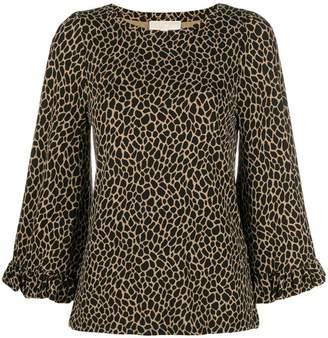MICHAEL Michael Kors giraffe print blouse