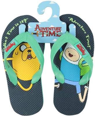 Finn Official Adventure Time And Jake Kid's Flip-Flops