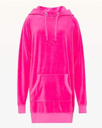 Juicy Couture Velour Oversize Boyfriend Hoodie