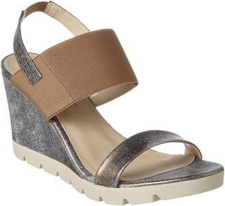 The Flexx Give A Lot Leather Wedge Sandal
