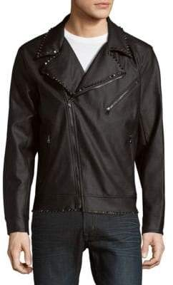Standard Issue NYC Studded Moto Jacket