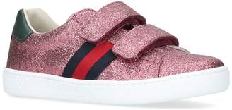 b9a9dc04d Gucci Ace Glitter Sneakers - ShopStyle