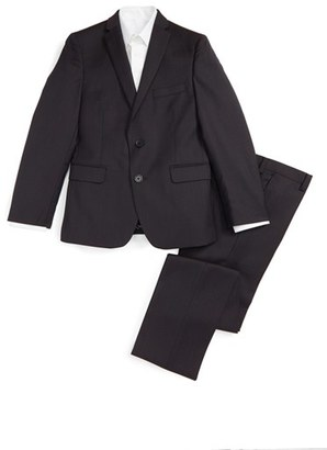 Boy's Tallia Wool Suit $250 thestylecure.com