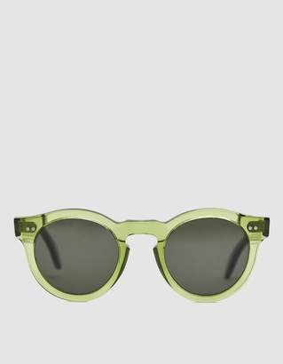R.T.Co Sora Round Sunglasses in Meadow Green
