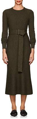 Victoria Beckham Women's Textured Wool Belted Midi-Dress