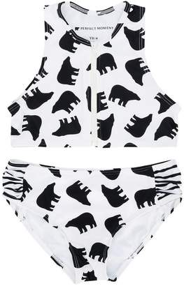 Perfect Moment Kids bear print bikini