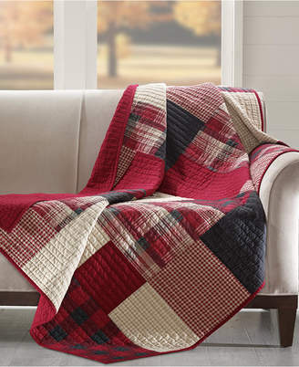 """Woolrich Sunset 50"""" x 70"""" Quilted Throw"""