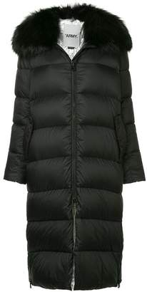 Yves Salomon Army fur collar padded parka