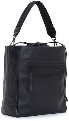 Transience Swing Leather Drawstring Bucket Bag