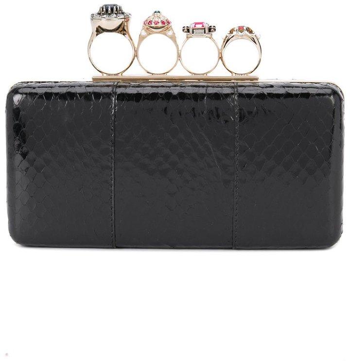 Alexander McQueenAlexander McQueen ring clutch bag