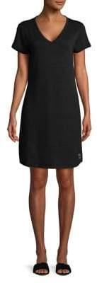 Calvin Klein Jeans V-Neck T-Shirt Dress