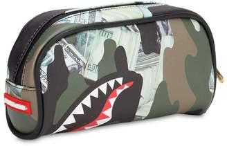 Sprayground Money Shark Faux Leather Pencil Case