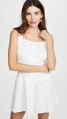 KENDALL + KYLIE Broderie Anglaise Eyelet Dress