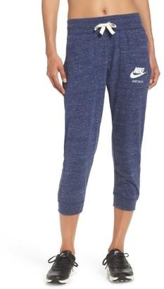 Women's Nike Sportswear Gym Vintage Capris $45 thestylecure.com