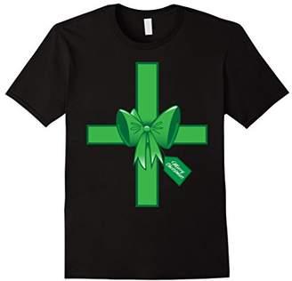 Christmas Green Bow Holiday Season T-Shirt