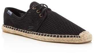 Soludos Derby Mesh Lace Up Espadrille Sneakers $75 thestylecure.com