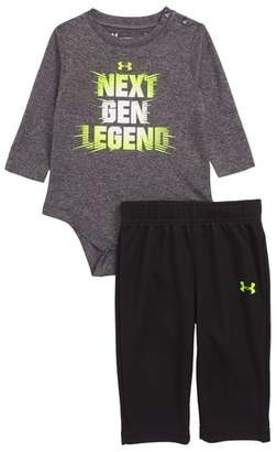 Under Armour Next Gen Legend Bodysuit & Mesh Pants Set