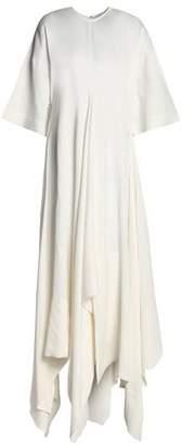 SOLACE London Asymmetric Ruffled Oxford Gown