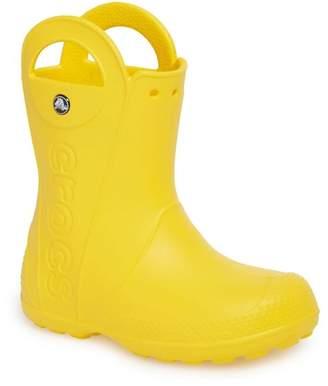 Crocs Handle It Waterproof Rain Boot (Baby, Toddler & Little Kid)