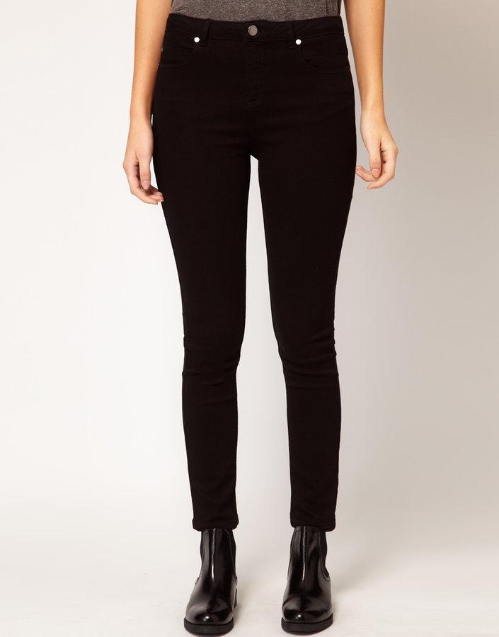 Whistles Black Overdye Jeans