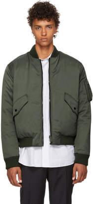 BOSS Reversible Khaki Dasher Bomber Jacket