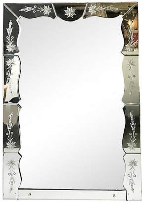 One Kings Lane Vintage French Mirror - Thomas Brillet Inc.