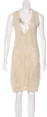 Brunello Cucinelli Silk Knee-Length Dress