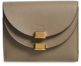 Chloé 'Georgia' Calfskin Leather Wallet