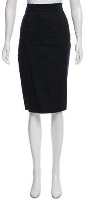 Tomas Maier Knee-Length Pencil Skirt