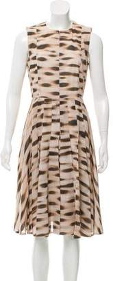 Akris Printed Sleeveless Dress