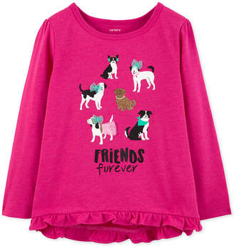 Carter's Baby Girls Friends Furever Graphic T-Shirt