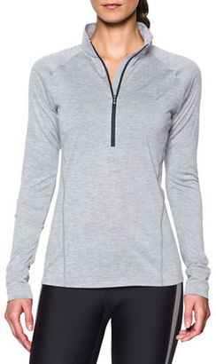 Under Armour Half-Zip Pullover $44.99 thestylecure.com