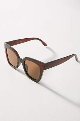 Anthropologie Matte Square Sunglasses