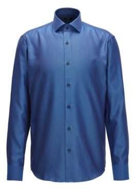 BOSS Hugo Cotton Dress Shirt, Regular Fit Gordon 15.5 Blue