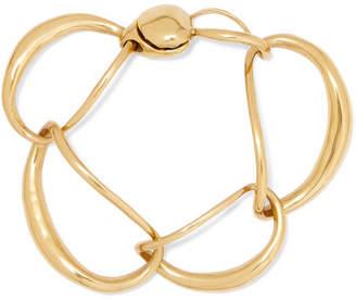 Dinosaur Designs Louise Olsen Liquid Chain Gold-plated Bracelet - one size