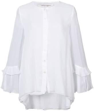 Carolina Herrera ruffled sleeve blouse