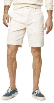 "Todd Snyder 9"" Stretch Italian Corduroy Camp Short in Off White"
