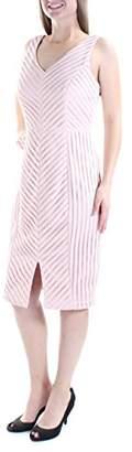 GUESS Women's Textured Midi Dress