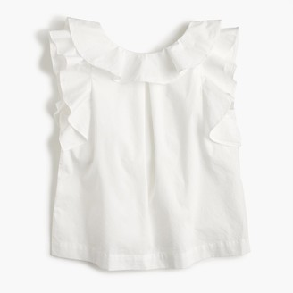 Girls' ruffle top in solid $45 thestylecure.com