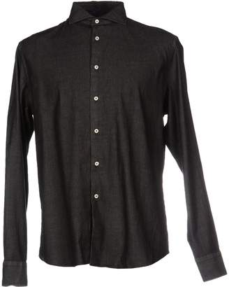 Bagutta Denim shirts - Item 38395162JA